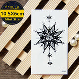 3d dream catcher Waterproof Temporary Tattoos dreamcatcher flash Tattoo stickers body art for women transferable fake tattoo