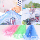 New arrival Hexagon gauze Food COVERS Umbrella Style Anti Fly Mosquito Kitchen cooking Tools meal cover table mesh food cover