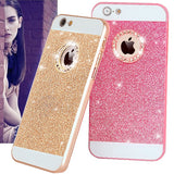 Lovely Fundas Candy Glitter Bling Diamond Back Cover For iPhone 7 6 6S Plus 5 5S SE 4 4S CASE