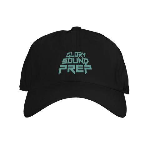 "Black ""Glory Sound Prep"" Dad Hat"
