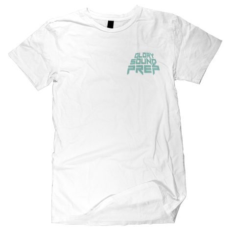 "White ""Glory Sound Prep"" T-Shirt"