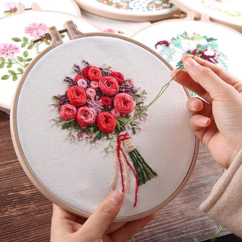 Image of RightStitch Embroidery Set - Goods on Fire