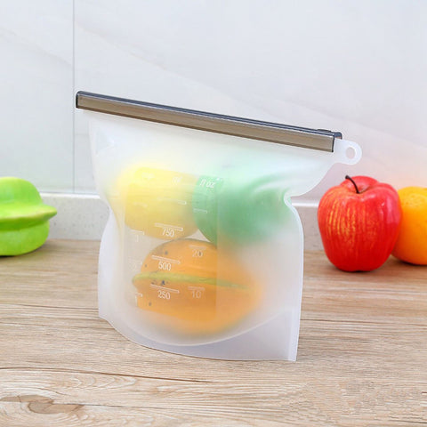 KeepFresh Reusable Silicone Bags