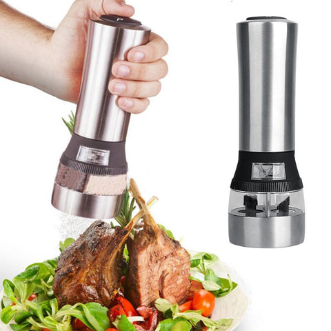 2 in 1 Electric Salt and Pepper Grinder