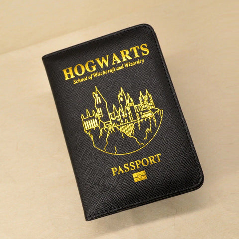 Image of Witchcraft & Wizardry Passport Holder