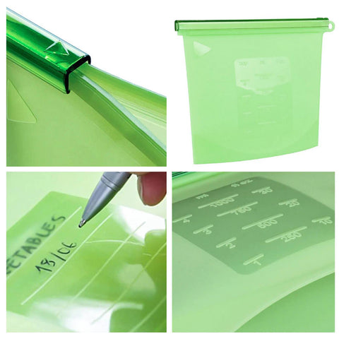 Image of KeepFresh Reusable Silicone Bags