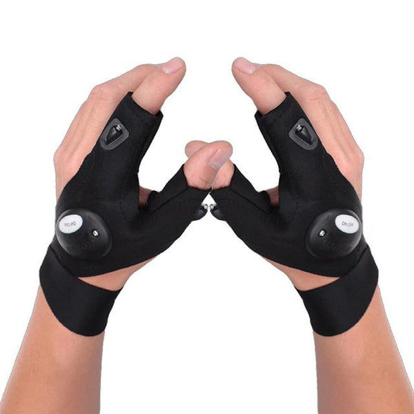 Portable LED Night Glove with Light