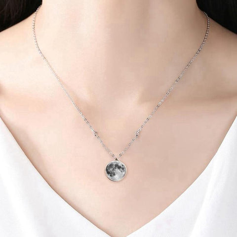 Image of TrueLove Full Luna Necklace