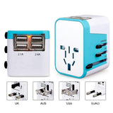 Travel Adapter with universal plug 2.0
