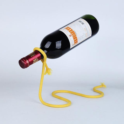Image of Wine Bottle Rack Holder Lasso