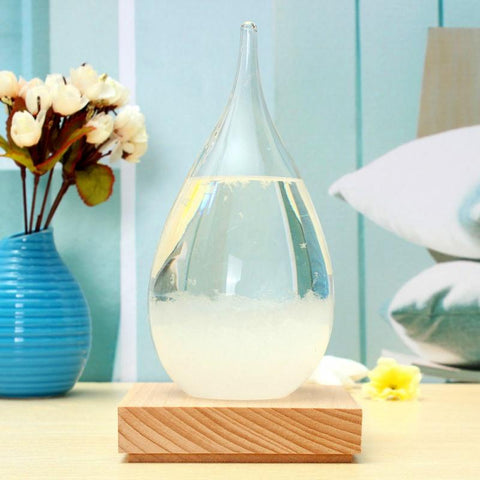 Image of Storm Glass Home Decor - Goods on Fire