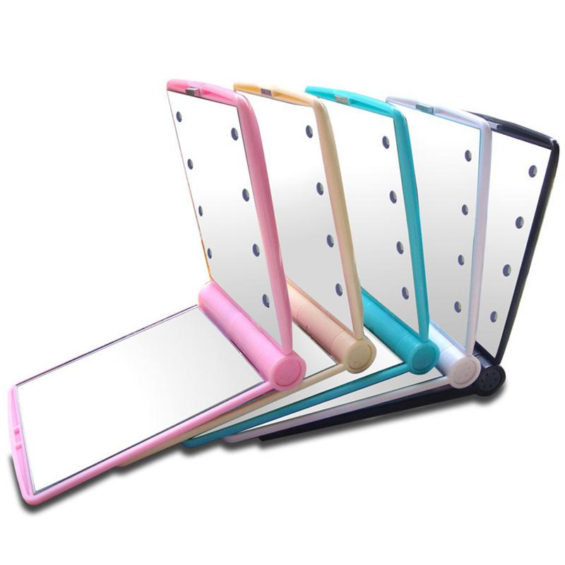 Portable 8 LED Lights Makeup Mirror