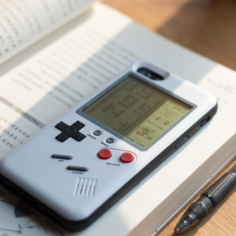 2 In 1 Gameboy Phone Case - Goods on Fire