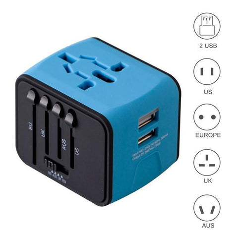 Image of Travel Adapter with universal plug 3.0
