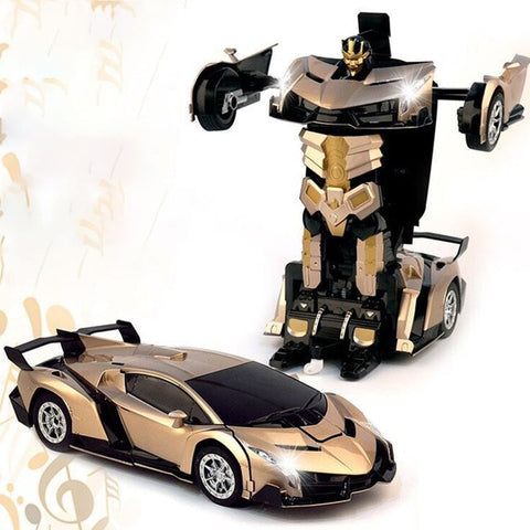 Unstoppable Transformer - Robotic Automobile - Goods on Fire