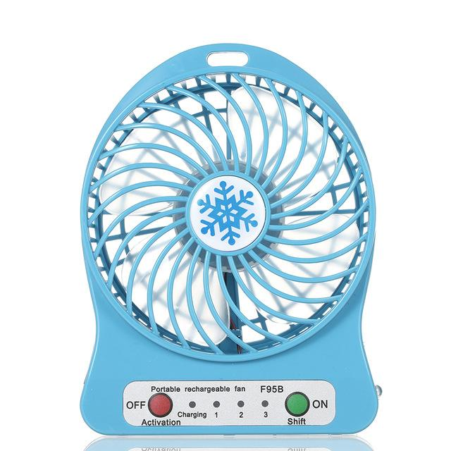 Portable LED Air Fan - Goods on Fire