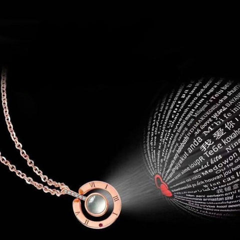 "Image of ""I love you"" Necklace"