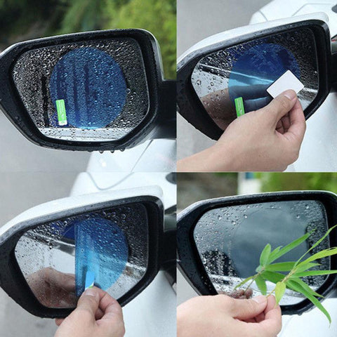 Clear Side Mirror View