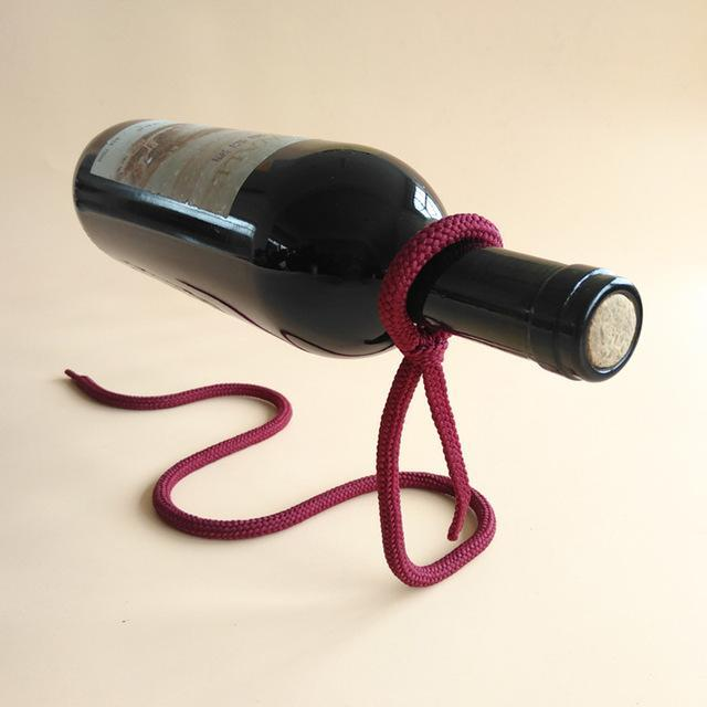 Wine Bottle Rack Holder Lasso