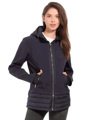 7919068de4a Women s Plus Size Echo Hybrid Softshell Jacket