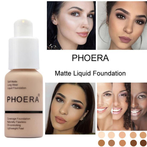 Phoera Full-Coverage™ Liquid Foundation 30ml