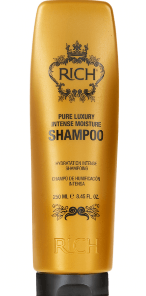 RICH Pure Luxury Intense Moisture Shampoo 8.45 OZ. (With Keratin)