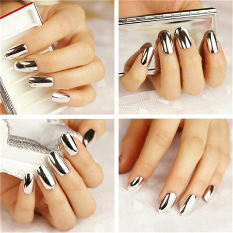 Image of Foil Nail Overlay