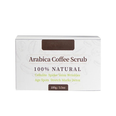 100% NATURAL ARABICA COFFEE SCRUBStretchmarks, Cellulite, Wrinkles + More