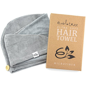 Microfiber Hair Towel Wrap