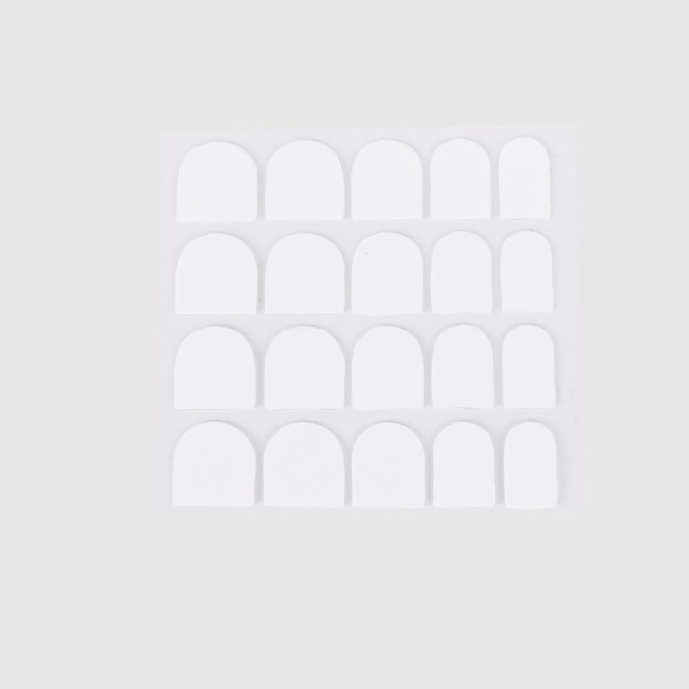 3 Sheets - Transparent Adhesive Tabs for Nails Tips 0.5mm