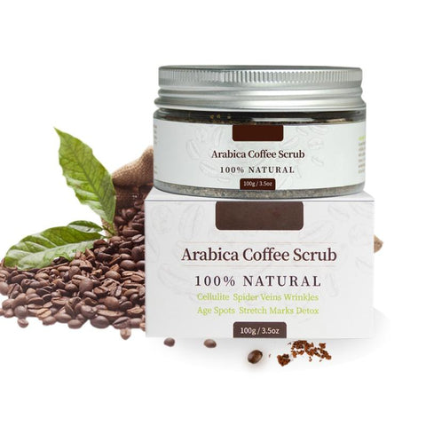 Image of 100% NATURAL ARABICA COFFEE SCRUBStretchmarks, Cellulite, Wrinkles + More