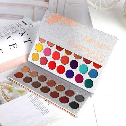 Gorgeous Me 63 Color Waterproof Eyeshadow Pallete