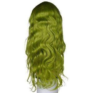 Emerald Green Front Lace Wig
