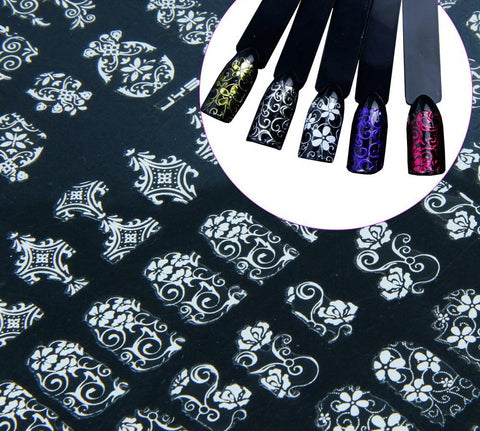 Image of Foil Nail Decals and  Striping Tape