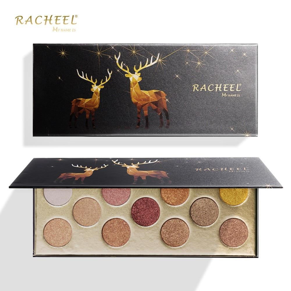 Bronze Eyeshadow Palette - 11 colors