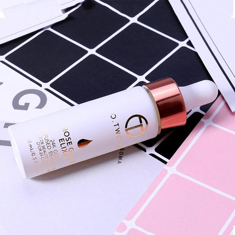 O.TWO.O 24k Face Makeup Base and Moisturizing Anti-Aging  Oil