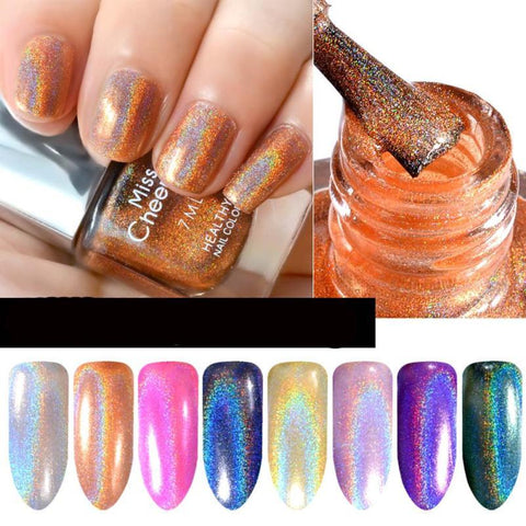 Holo Diamond Nail Polish  7ML