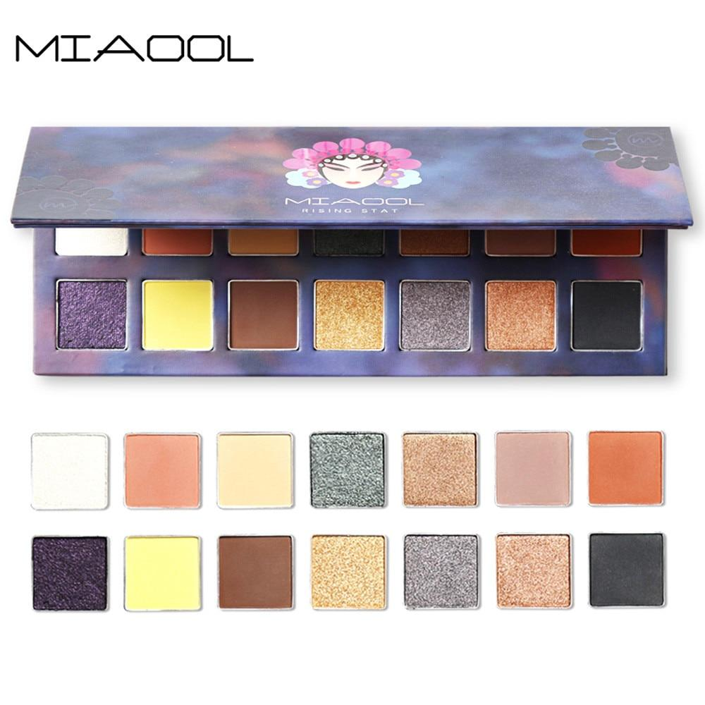 Earth Colors Matte Eyeshadow Palette - 14 colors