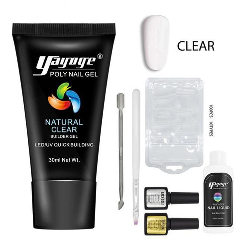 Image of 🔥 UV Poly Gel  Nail Enhancement Kit