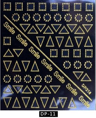 Artlalic 1 Sheet New Vintage Gold Metal Foil Decal DIY Rose Flowers Butterfly Letter Designs Nail Stickers Decorations DP01-16
