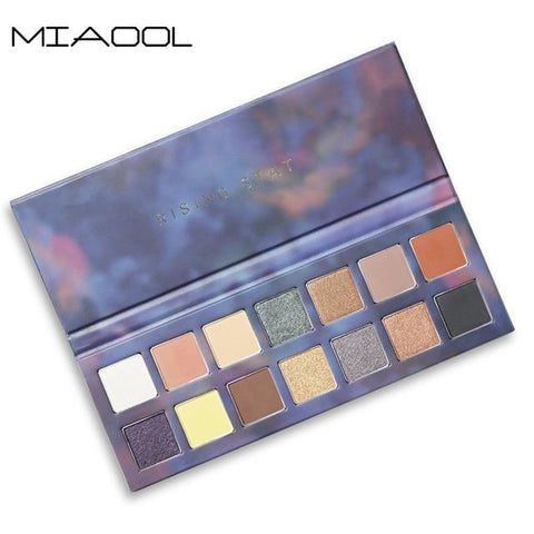 Image of Earth Colors Matte Eyeshadow Palette - 14 colors
