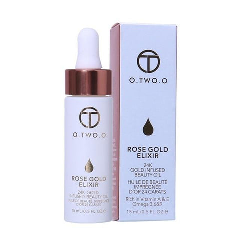 Image of O.TWO.O 24k Face Makeup Base and Moisturizing Anti-Aging  Oil