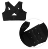 Posture Corrector Adjustable Women Back Support Belt Orthotics Posture Correction Brace Rectify Posture Corset Face Lift Tool