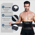 Men Woman Slimming Trimmer Waistband Body Weight Loss Waist Belly Fat Calorie Burning Belt - www-palaoutletstore.com