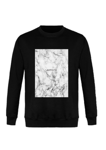 Sweatshirt Artiste RUPTURE, vêtement, Collection Noir