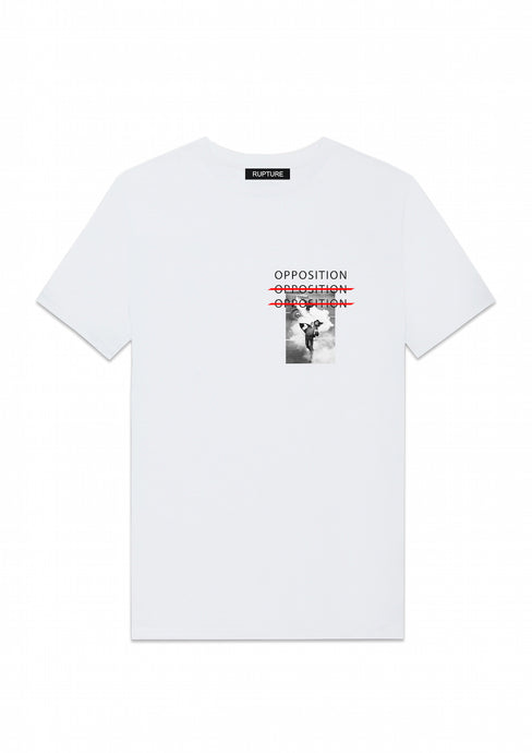 t shirt blanc rupture france vetements opposition