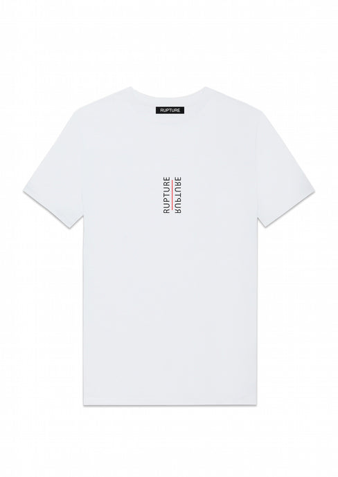t shirt blanc rupture vetements