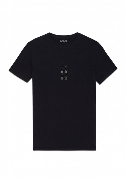 t shirt noir rupture vetements