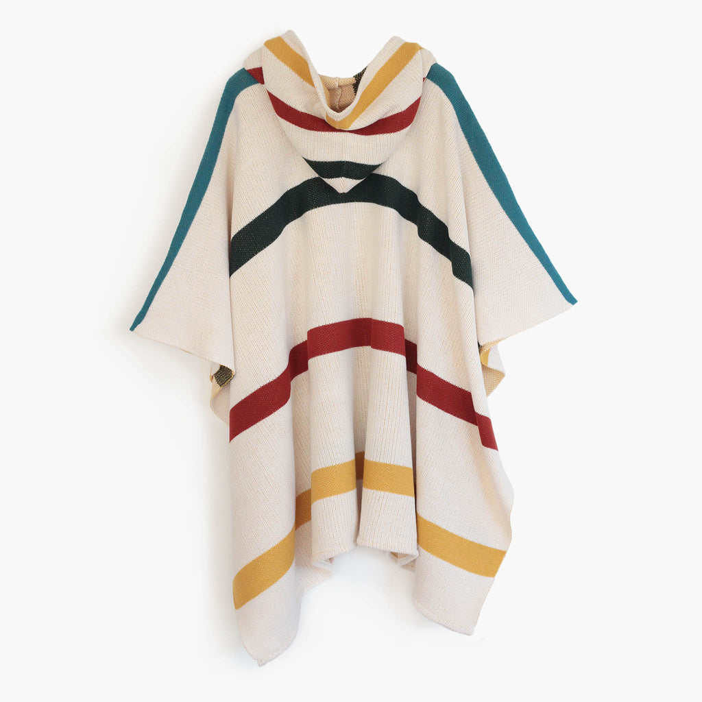 Poncho Rayas colores