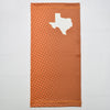Texas Ombre Polka Orange Neck Gaiter